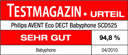Philips Avent SCD 525 - ETM Testmagazin Testurteil