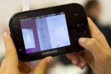 Samsung SEW 3037 Babyphone Praxistest - Handhabung